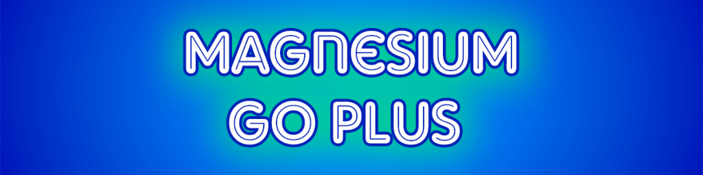 Magnesium Go Plus Header