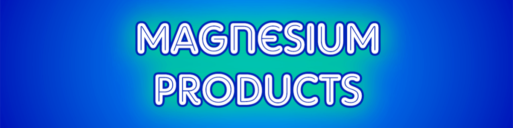 Magnesium Products Header