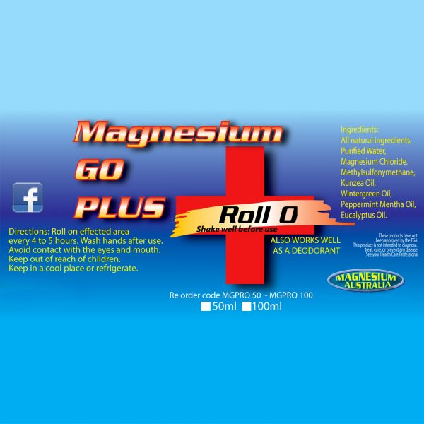 Magnesium Go Plus Roll On Info